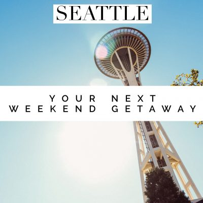 Your Next Weekend Getaway