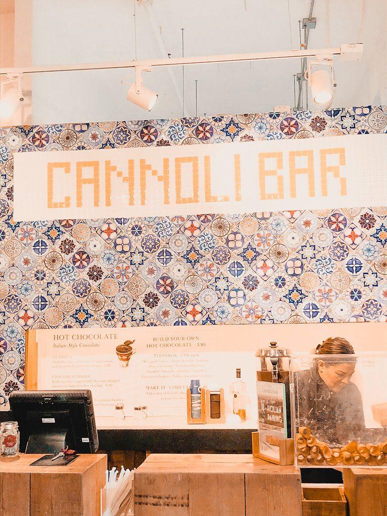 Eataly Cannoli Bar