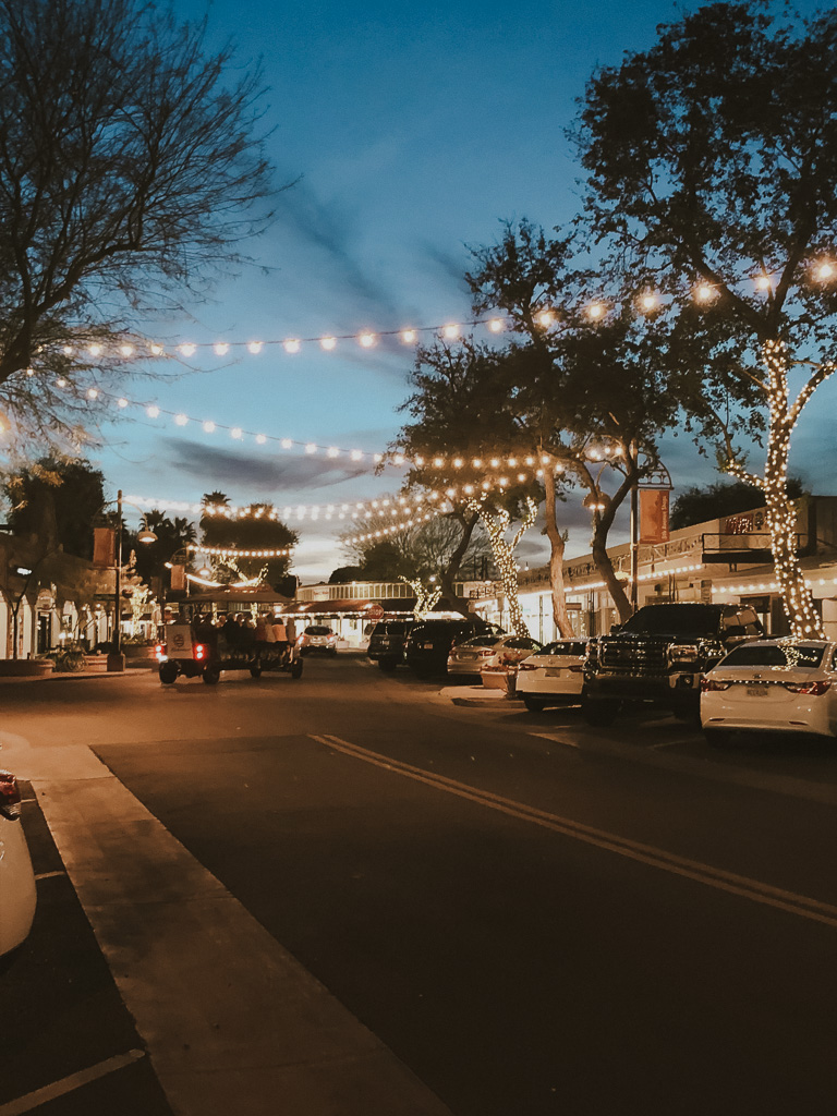 Old Town Scottsdale at Night