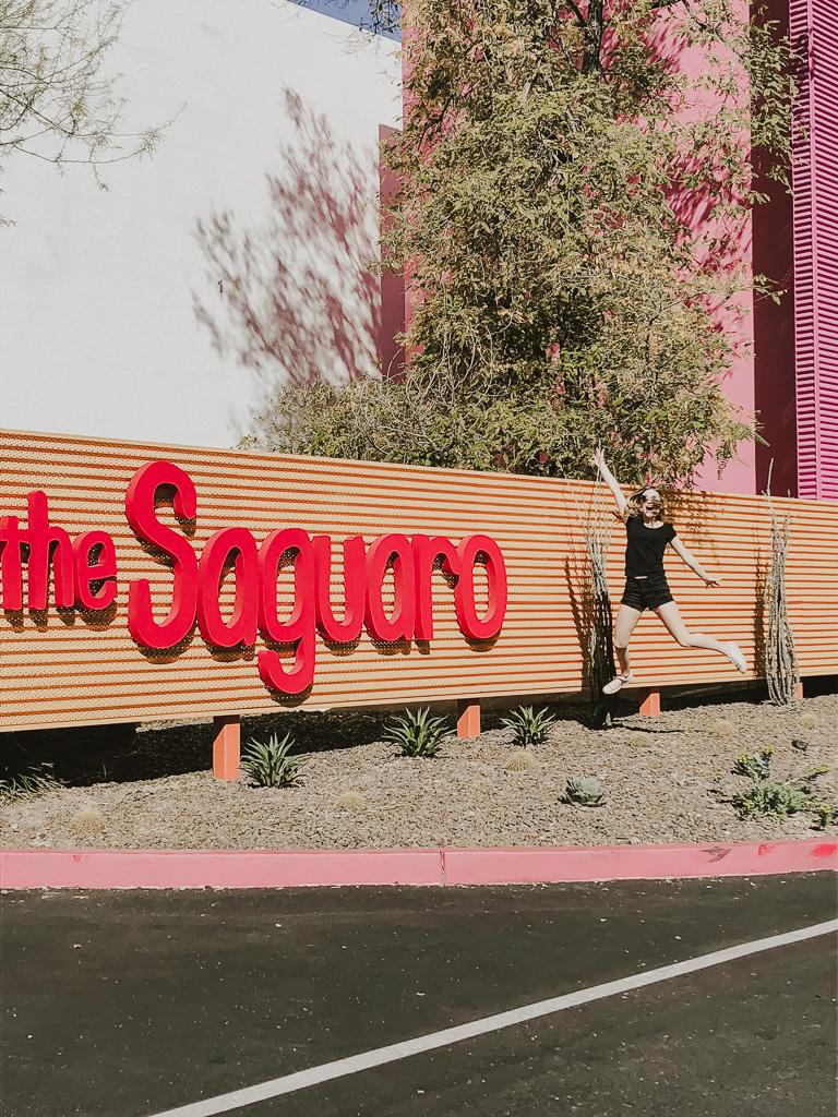 The Saguaro Scottsdale entrance